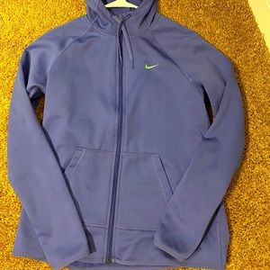 Hooded Nike Dri-fit jacket